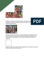 El atletismo es un deporte el cual se vasa en recorrer varios metros hasta llegar a una meta para poder ganar se vasa en varias competencias distintas 1km.docx
