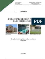 Capitulo 2 (Dotaciones de Agua Potable Para Edificaciones)