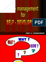 200706xx - SELF-Management for SELF-Development - 65s - Hyderabad Central University MBA Students