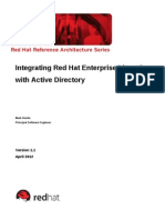 Integrating Red Hat With Active Directory