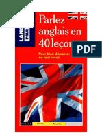 Langue Anglais 40 Leçons pour parler l'anglais Presses Pocket
