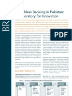 CGAP Brief Branchless Banking in Pakistan a Laboratory for Innovation Oct 2011