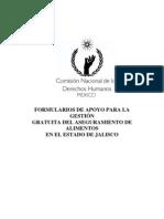 Derechos Humanos - Formularios