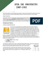 Propuesta de Proyecto Inf-262