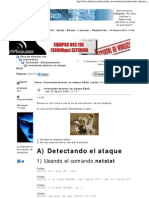 Intentando Detener Un Ataque DDoS