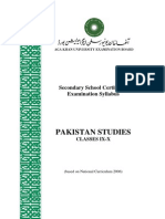 Pakistan Studies_Classes IX-X Revised June 2012