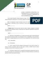 Lei Complementar 249 de 15 de Julho de 2011