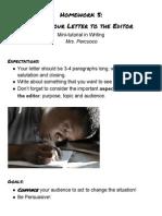 Homework Print Out - Week 5