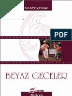 FIYODOR DOSTOYEVSKI - BEYAZ GECELER