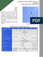 Antena Gober de 1-4 de Onda