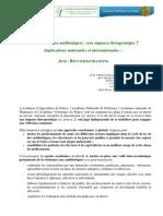 Recommandations séance ATBR VF 2012 11 30