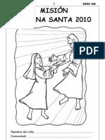(material misión 2009 para niños semana santa)