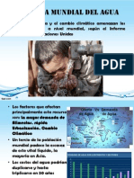 Problemática del agua
