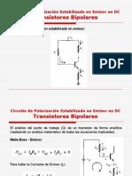 Circuito de Polarizacion Estabilizado en Emisor