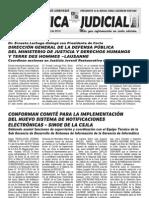 Tdh en Gaceta Cronica Judicial