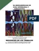 Jornada Iberoamericana de Medicina Hiperbarica y Subacuatica Publicado