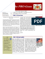 The Pro-gram Volume 1, Issue 5, April 2013, Final 2 May 13