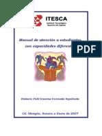 Manual de Atencion a Estudiantes Con Capacidades Diferentes