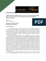 Puelles, Manuel de. (2004). Estado y educación en la España liberal
