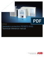 1MRK502027-UUS a en Technical Reference Manual REG670 ANSI 1.2