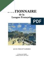 Langue Française DICTIONNAIRE de la Langue Française (50 000 Mots)