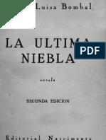 6636315 La Ultima Niebla Maria Luisa Bombal