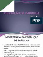 PRODUÇÃO DE BARRILHA