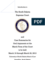 Case Summaries March 2013 Term of Court Booklet