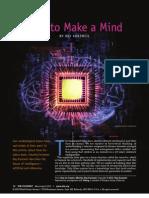 The Futurist How to Make a Mind