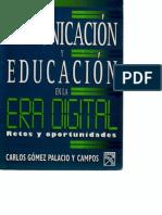 Comunicacion y Educacion en La Era Digital