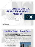 Expo Line South LA Grade Separation Project