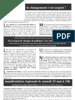 Tract Rrom Manif Paris 25 Mai