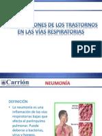 Clase 8 Complicaciones de Los Trastornos en Las Vias Respiratorias