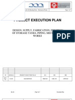 Project Execution Plan