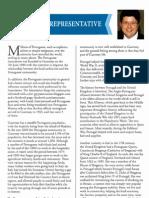 """Artigo publicado recentemente na revista oficial de """"St. Peter Port Constables"""" por Elvio Pires"""