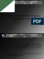 Desarrollo de Habilidades Sociales y Comunicación Asertiva
