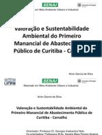 Valoração Monetéria do Reservatório do Carvalho
