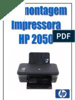 Como Desmontar a Impressora HP 2050