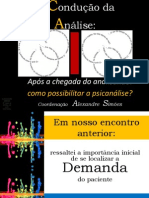 Aula 2 - APÓS A CHEGADA DO ANALISANDO - COMO POSSIBILITAR A ANÁLISE - Curso  A 1dd15452204