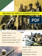 Resumo Direito Admnistrativo