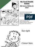 Mis buenos hábitos de salud - My Good Health Habits