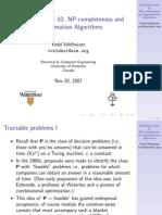 ECE750_F2008_Algorithms10