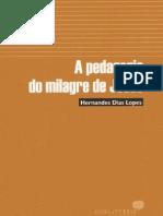 A Pedagogia Do Milagre de Jesus - Hernandes Dias Lopes