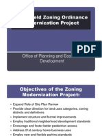 Springfield Zoning Ordinance Modernization Project