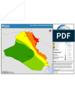 Iraq-Seismic Hazard Distribution Map