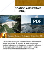Banco de Dados Ambientais
