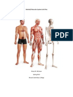 skeletal-muscular system unit plan
