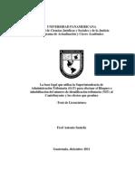 Inhabilitacion Del Nit y Proceso Admin de La Sat