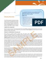 Hoovers Industry Report Sample