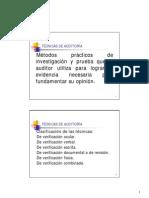 09-Tecnicas de Auditoria